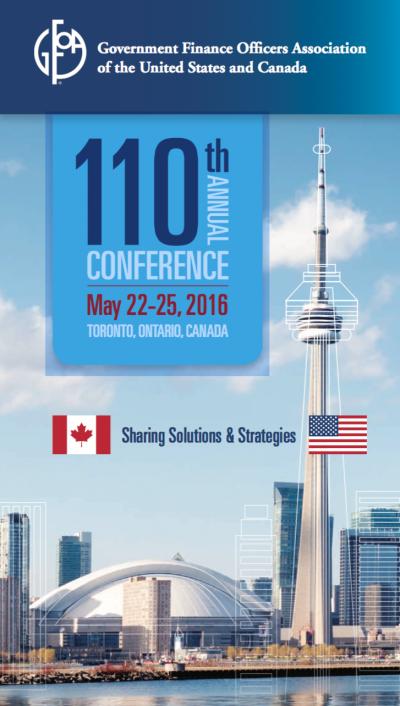GFOA 2016 Annual Conference